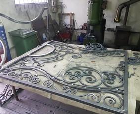 Metalo konstrukciju gamyba(kalviai, metalo kuribos meistrai) / Andrius Bagdonas / Darbų pavyzdys ID 526015