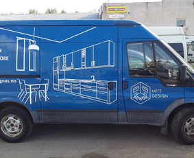 Reklama ant transporto, lipdukų gamyba, lauko/vidaus reklama / Trigalvis.lt / Darbų pavyzdys ID 527133