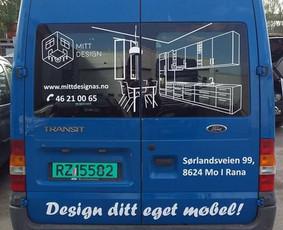 Reklama ant transporto, lipdukų gamyba, lauko/vidaus reklama / Trigalvis.lt / Darbų pavyzdys ID 527135