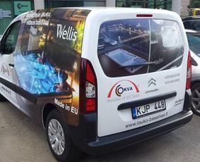 Reklama ant transporto, lipdukų gamyba, lauko/vidaus reklama / Trigalvis.lt / Darbų pavyzdys ID 527149