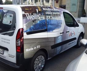 Reklama ant transporto, lipdukų gamyba, lauko/vidaus reklama / Trigalvis.lt / Darbų pavyzdys ID 527155