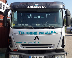 Reklama ant transporto, lipdukų gamyba, lauko/vidaus reklama / Trigalvis.lt / Darbų pavyzdys ID 527163