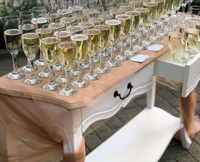 Vaišių staliukas po ceremonijos / Indrė / Darbų pavyzdys ID 531381