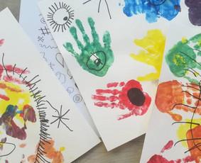 Vizualiųjų menų užsiėmimai 3 - 8 metų vaikams
