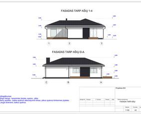 Architektas, projektavimas / RN projektai / Darbų pavyzdys ID 532965