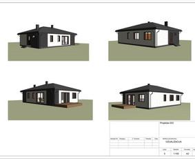 Architektas, projektavimas / RN projektai / Darbų pavyzdys ID 532983