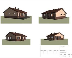 Architektas, projektavimas / RN projektai / Darbų pavyzdys ID 533003