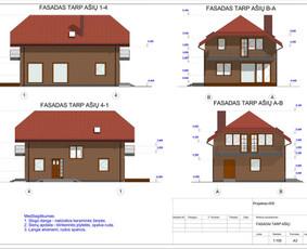 Architektas, projektavimas / RN projektai / Darbų pavyzdys ID 533007