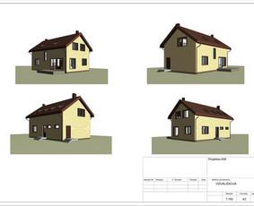 Architektas, projektavimas / RN projektai / Darbų pavyzdys ID 533015