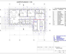 Architektas, projektavimas / RN projektai / Darbų pavyzdys ID 533017