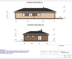 Architektas, projektavimas / RN projektai / Darbų pavyzdys ID 533019