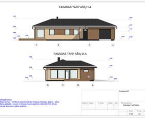 Architektas, projektavimas / RN projektai / Darbų pavyzdys ID 533021