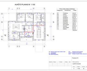 Architektas, projektavimas / RN projektai / Darbų pavyzdys ID 533037