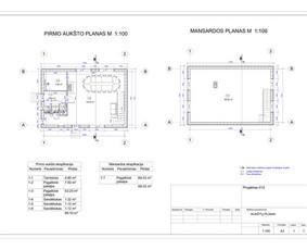 Architektas, projektavimas / RN projektai / Darbų pavyzdys ID 533049