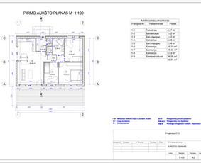 Architektas, projektavimas / RN projektai / Darbų pavyzdys ID 533055