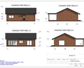 Architektas, projektavimas / RN projektai / Darbų pavyzdys ID 533057