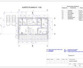 Architektas, projektavimas / RN projektai / Darbų pavyzdys ID 533075