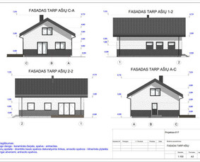 Architektas, projektavimas / RN projektai / Darbų pavyzdys ID 533083