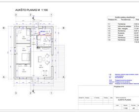 Architektas, projektavimas / RN projektai / Darbų pavyzdys ID 533289