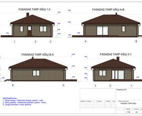 Architektas, projektavimas / RN projektai / Darbų pavyzdys ID 533291
