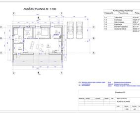 Architektas, projektavimas / RN projektai / Darbų pavyzdys ID 533295