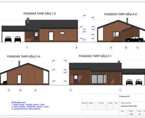 Architektas, projektavimas / RN projektai / Darbų pavyzdys ID 533297