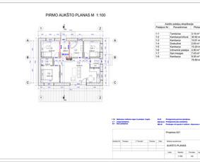Architektas, projektavimas / RN projektai / Darbų pavyzdys ID 533301