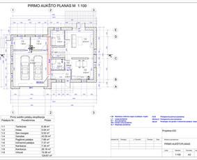Architektas, projektavimas / RN projektai / Darbų pavyzdys ID 533307