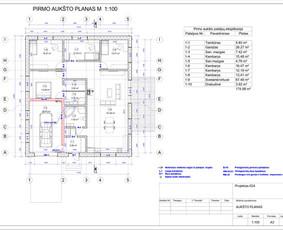 Architektas, projektavimas / RN projektai / Darbų pavyzdys ID 533377