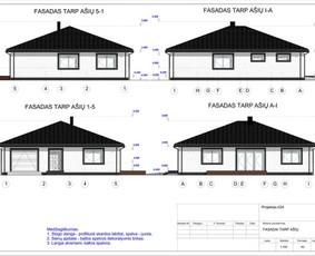 Architektas, projektavimas / RN projektai / Darbų pavyzdys ID 533379