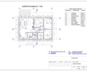 Architektas, projektavimas / RN projektai / Darbų pavyzdys ID 533383