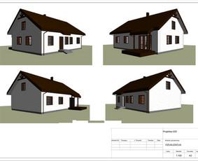 Architektas, projektavimas / RN projektai / Darbų pavyzdys ID 533387