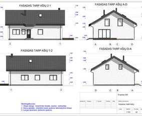 Architektas, projektavimas / RN projektai / Darbų pavyzdys ID 533391