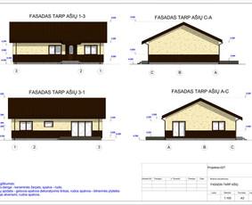 Architektas, projektavimas / RN projektai / Darbų pavyzdys ID 533397
