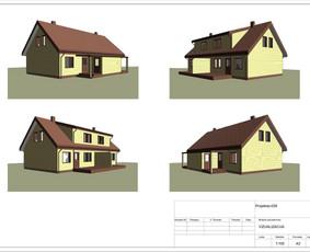Architektas, projektavimas / RN projektai / Darbų pavyzdys ID 533407