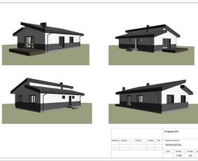 Architektas, projektavimas / RN projektai / Darbų pavyzdys ID 533433
