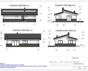 Architektas, projektavimas / RN projektai / Darbų pavyzdys ID 533437