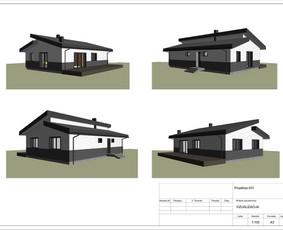 Architektas, projektavimas / RN projektai / Darbų pavyzdys ID 533439
