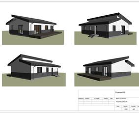 Architektas, projektavimas / RN projektai / Darbų pavyzdys ID 533905