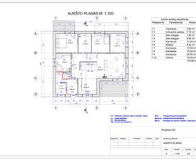Architektas, projektavimas / RN projektai / Darbų pavyzdys ID 533913
