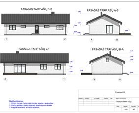 Architektas, projektavimas / RN projektai / Darbų pavyzdys ID 533921