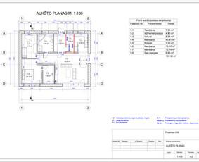 Architektas, projektavimas / RN projektai / Darbų pavyzdys ID 533925