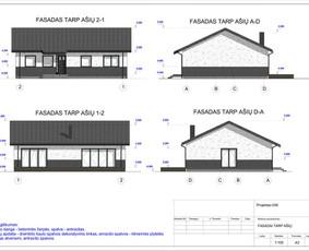 Architektas, projektavimas / RN projektai / Darbų pavyzdys ID 533927