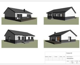 Architektas, projektavimas / RN projektai / Darbų pavyzdys ID 533929