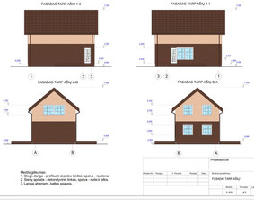 Architektas, projektavimas / RN projektai / Darbų pavyzdys ID 533943