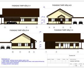 Architektas, projektavimas / RN projektai / Darbų pavyzdys ID 533955