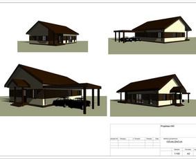 Architektas, projektavimas / RN projektai / Darbų pavyzdys ID 533957