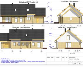 Architektas, projektavimas / RN projektai / Darbų pavyzdys ID 533967