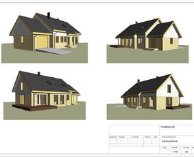 Architektas, projektavimas / RN projektai / Darbų pavyzdys ID 533969
