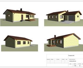 Architektas, projektavimas / RN projektai / Darbų pavyzdys ID 533975
